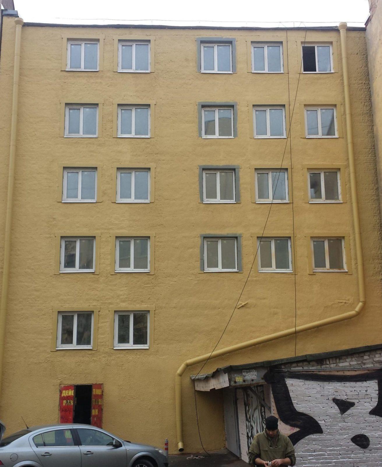 Ремонт фасада ООО «Континент»