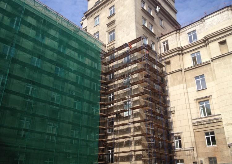Фасадные работы в Санкт-Петербурге под ключ