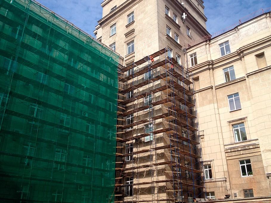 Строительно-монтажные работы в Санкт-Петербурге