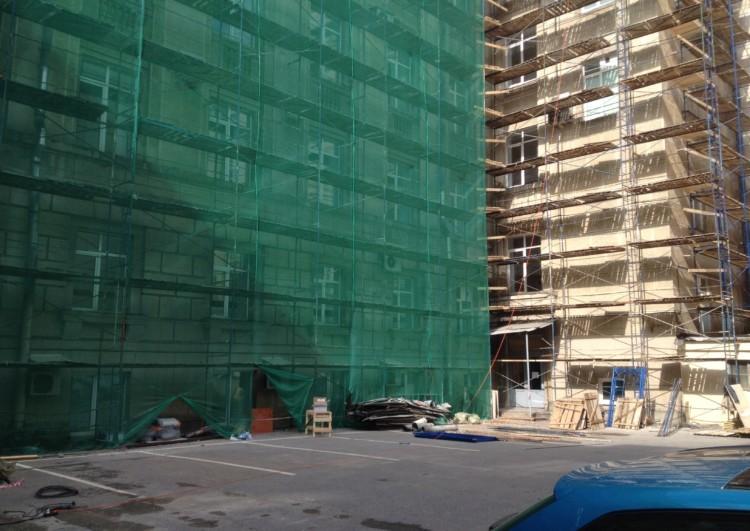 ремонт фасада зданий под ключ