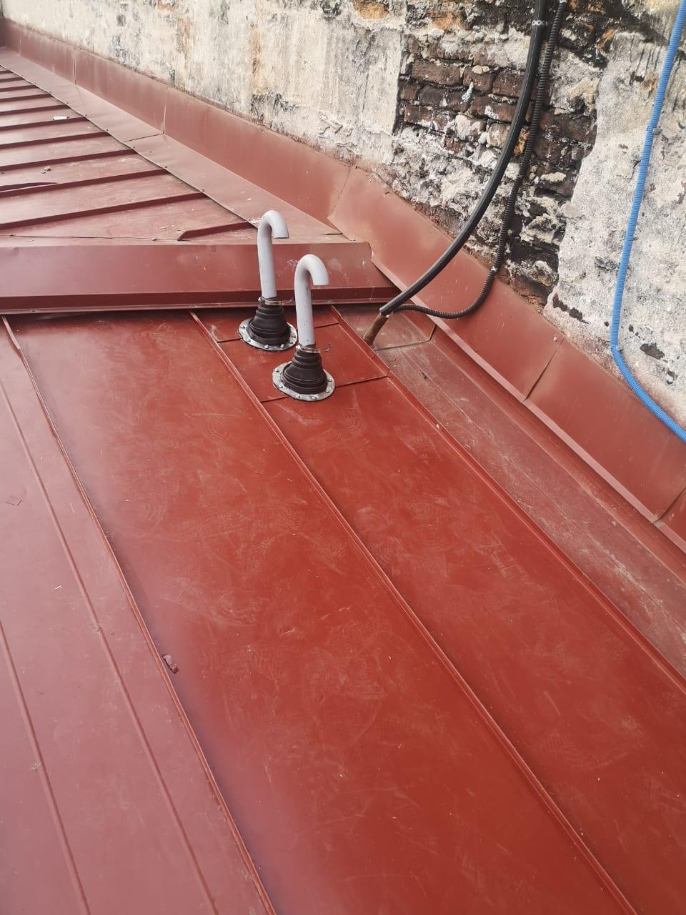 Стоимость монтажа вентиляционных каналов кровли здания с частичной заменой пирога кровли в ЛО