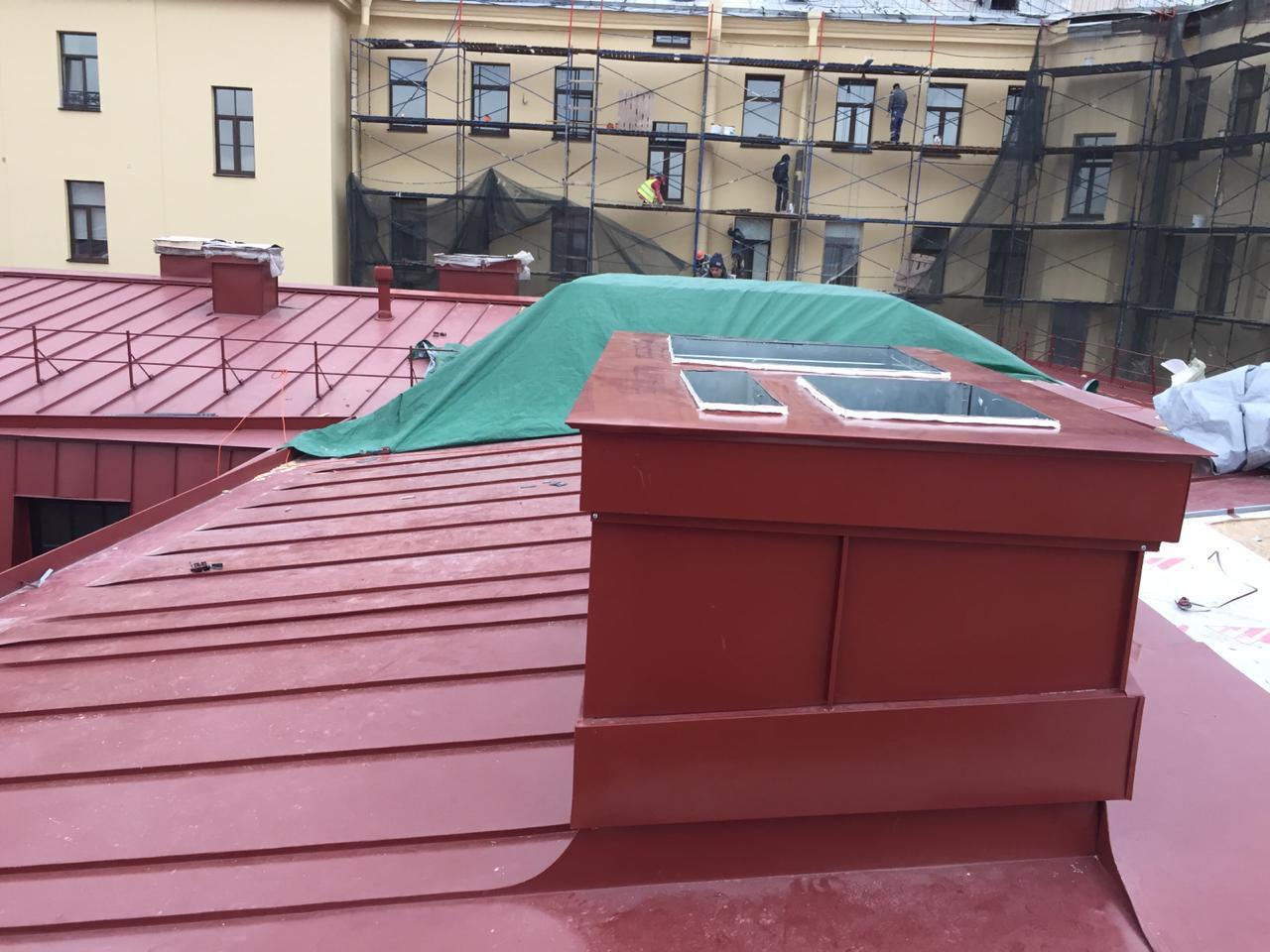 Стоимость качественного монтажа вентиляционных каналов кровли здания в СПб