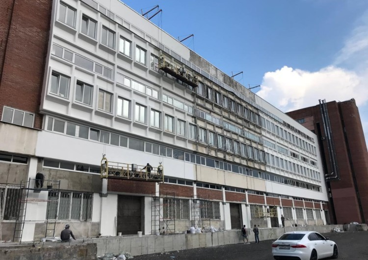 Ремонт фасада зданий в Санкт-Петербурге