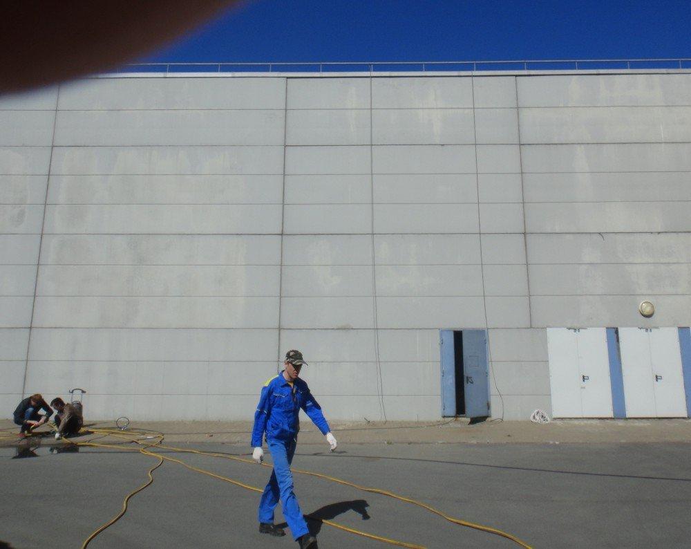 Цена фасадных ремонтных работ здания для ООО «Манхэттен Риал Эстейт Менеджмент» в СПб