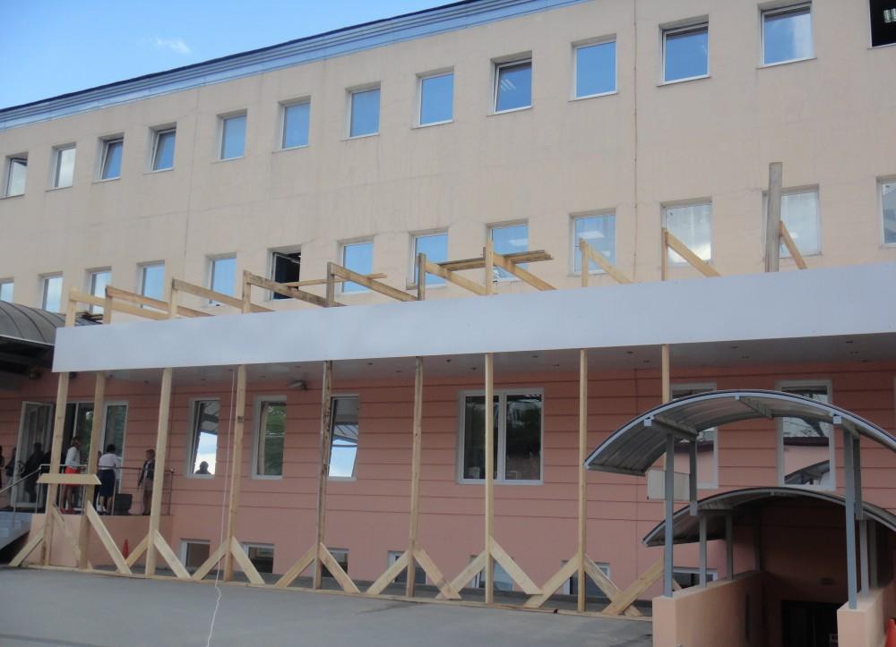 Качественно выполненные фасадные работы для офисного здания для ЗАО «ЦТО-ККМ, СПб»