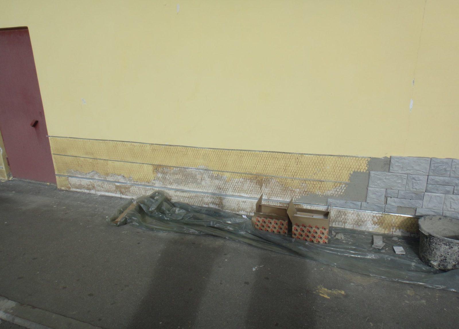 Фасадные работы для ЗАО «ЦТО-ККМ, СПб»
