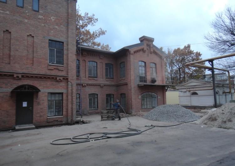 ремонт фасада зданий Спб