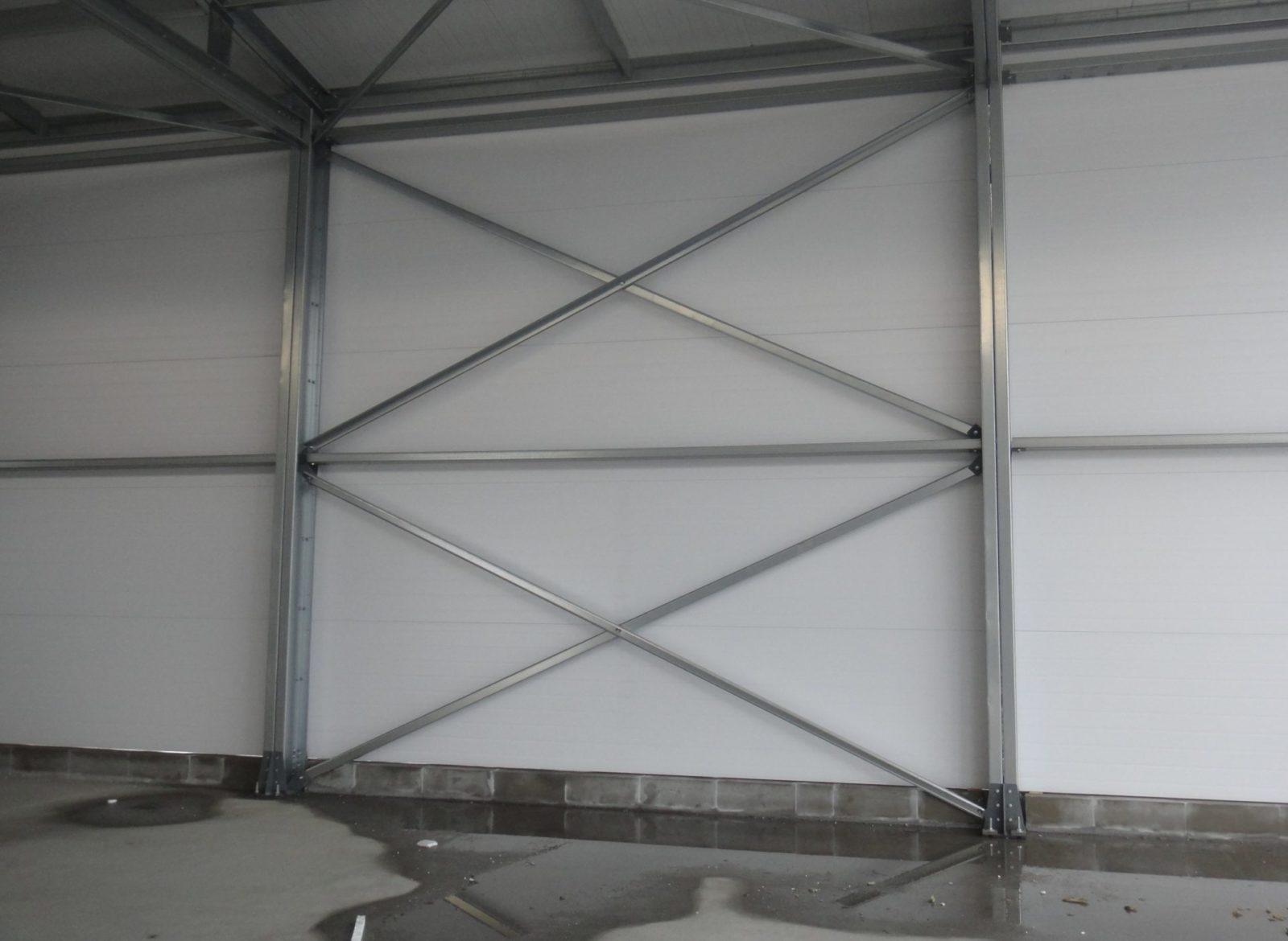Монтаж металлического каркаса здания быстро