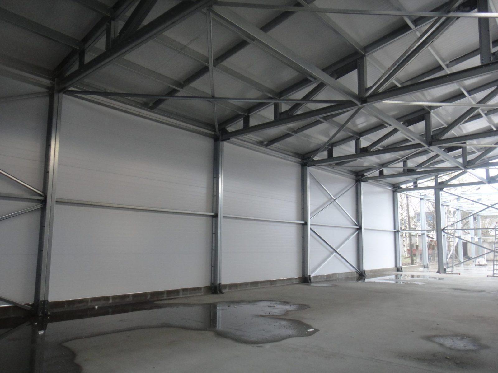 Установка быстровозводимого здания качественно и в сжатые сроки