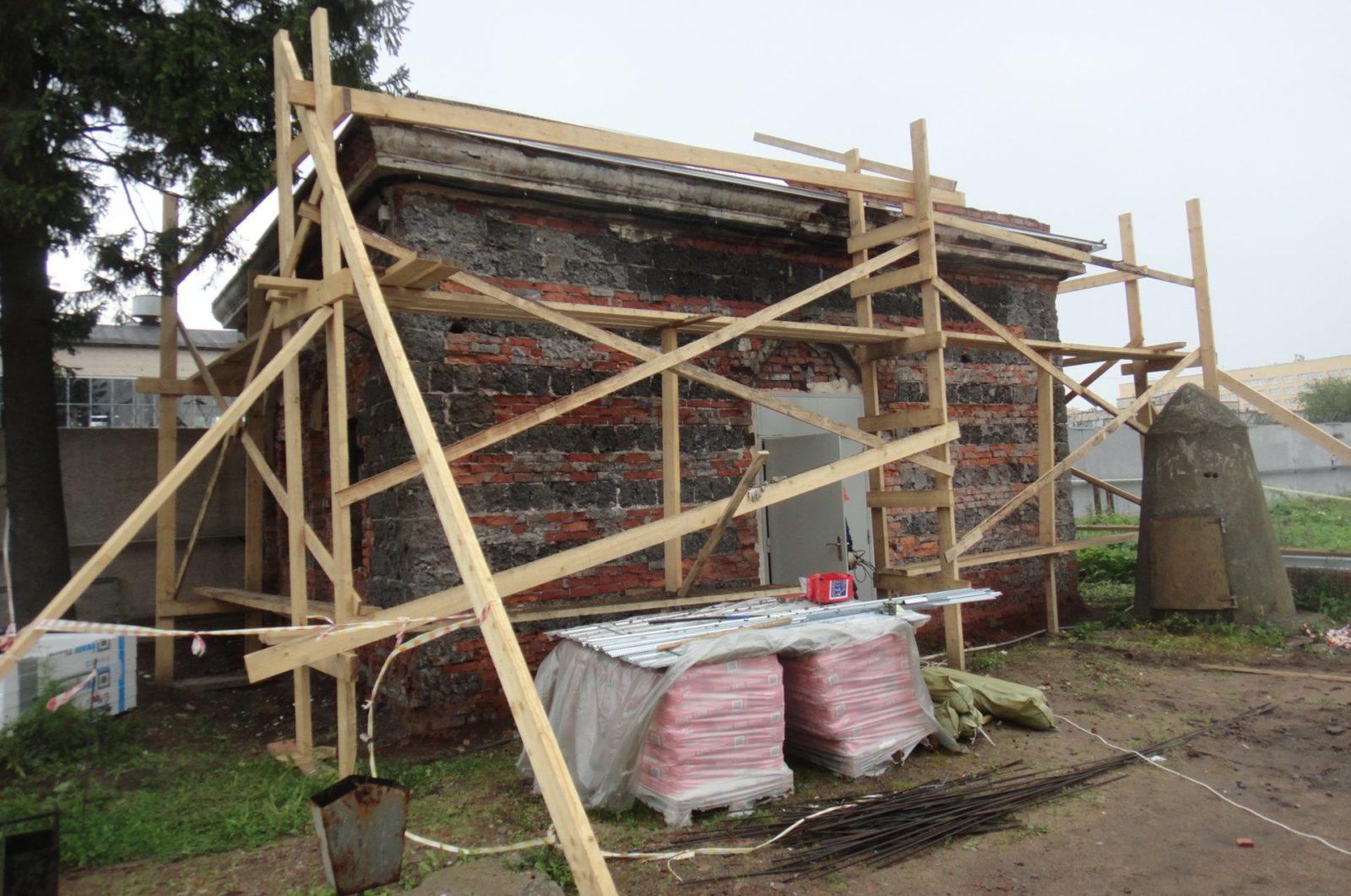 Качественный ремонт фасада пункта пропуска «СПбВС» в СПб