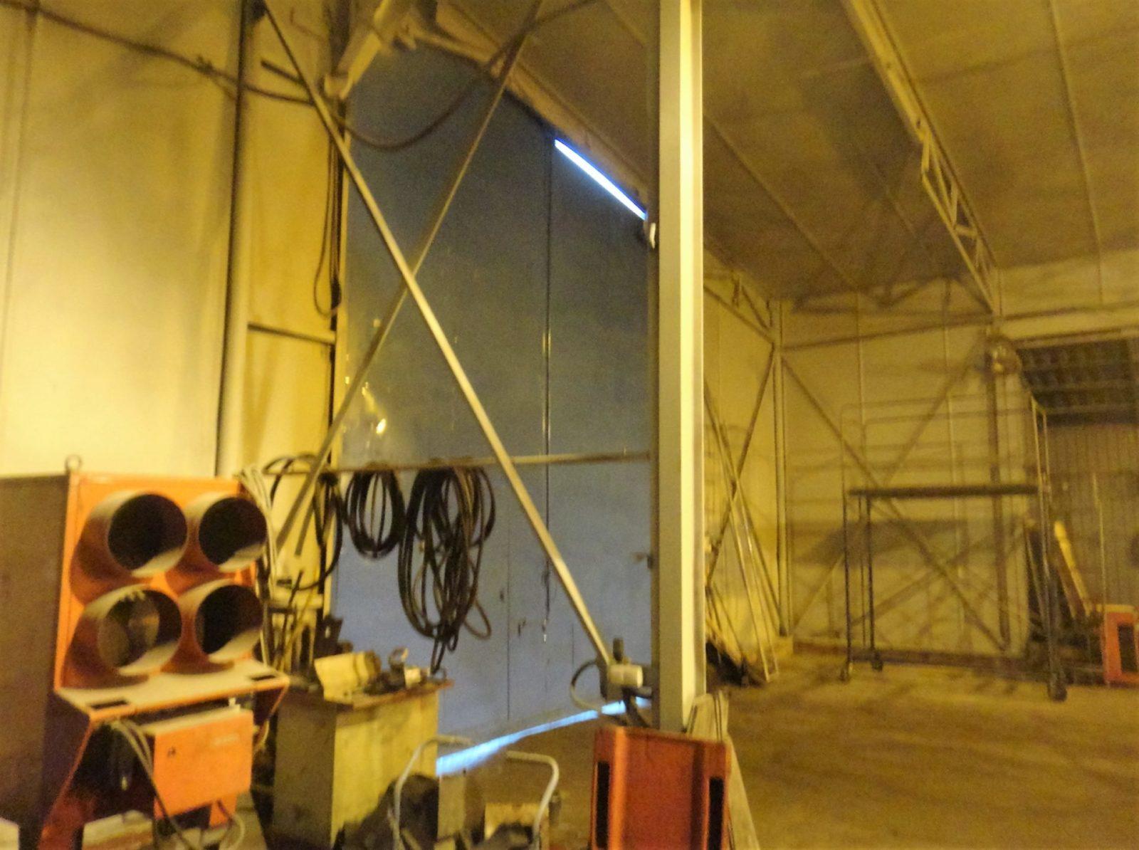 Косметический ремонт ангара