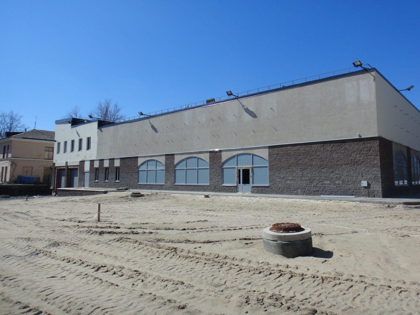 Проведены качественный ремонт штукатурного фасада для ООО «АСК Цитадель» в Петербурге