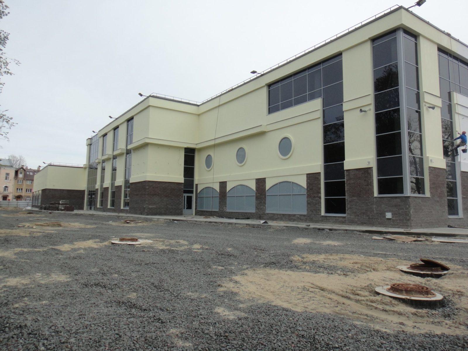 Проведен качественный ремонт штукатурного фасада для ООО «АСК Цитадель» в СПб