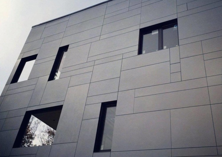 бригада для отделки фасада фиброцементными панелями