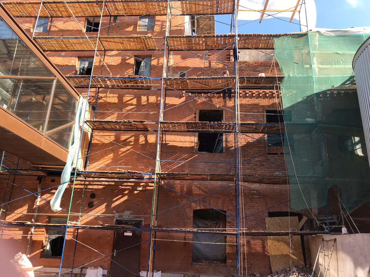 Фасадные работы в Питере