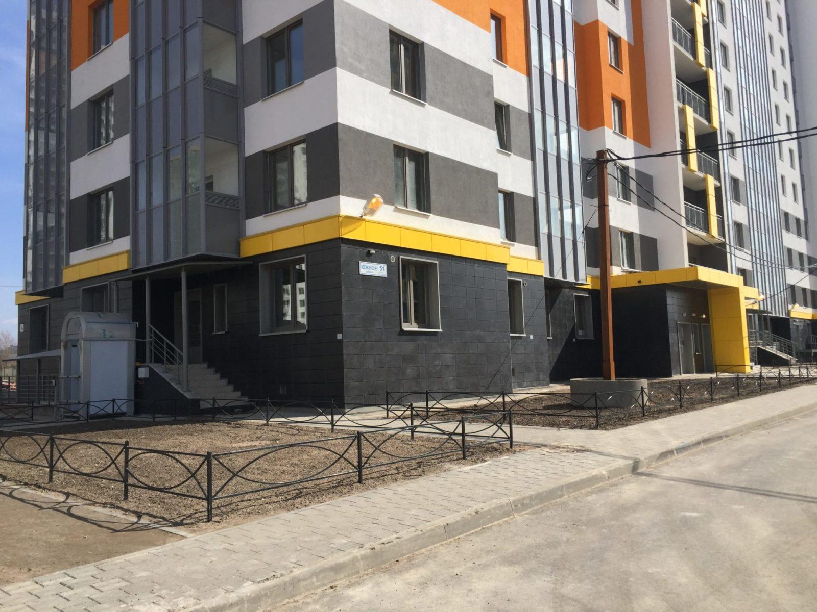 Устройство вентилируемых фасадов для ПАО «Группа ЛСР» в Петербурге