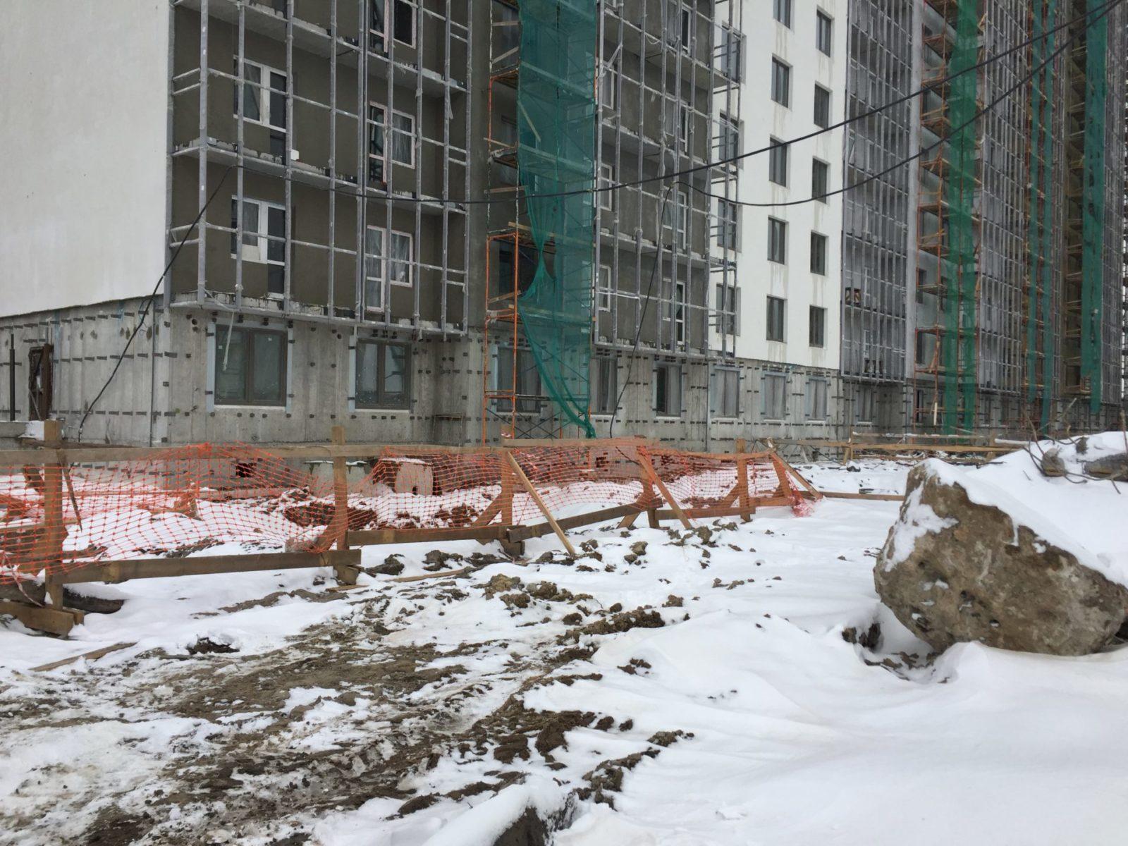 Работы по устройству вентилируемых фасадов для ПАО «Группа ЛСР»