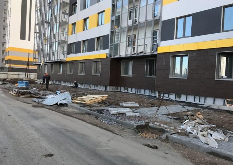 услуги по монтажу фасада из керамогранита