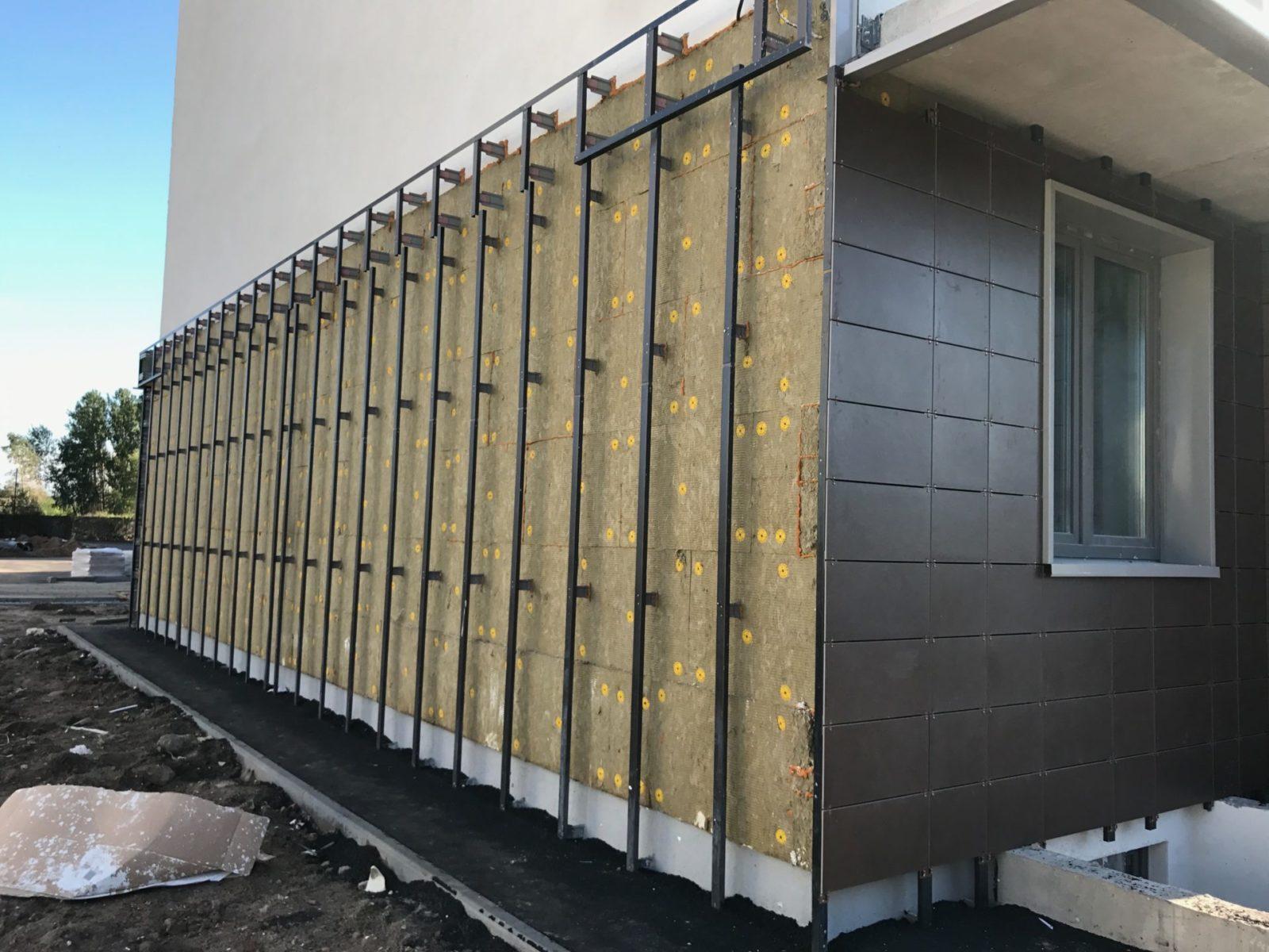 Цена выполнения работ по устройству вентилируемых фасадов для ПАО «Группа ЛСР»