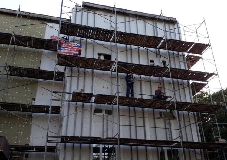 цена на монтаж фасада из керамогранита