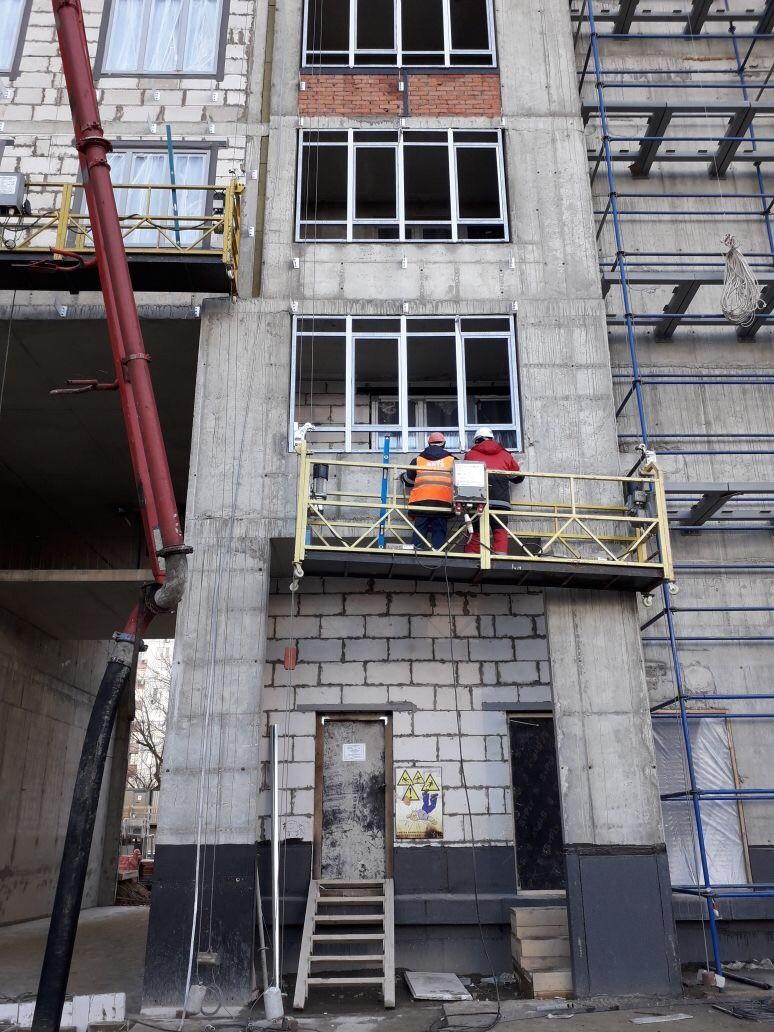 Устройство вентилируемых фасадов жилого комплекса для ООО «Антс-Групп»