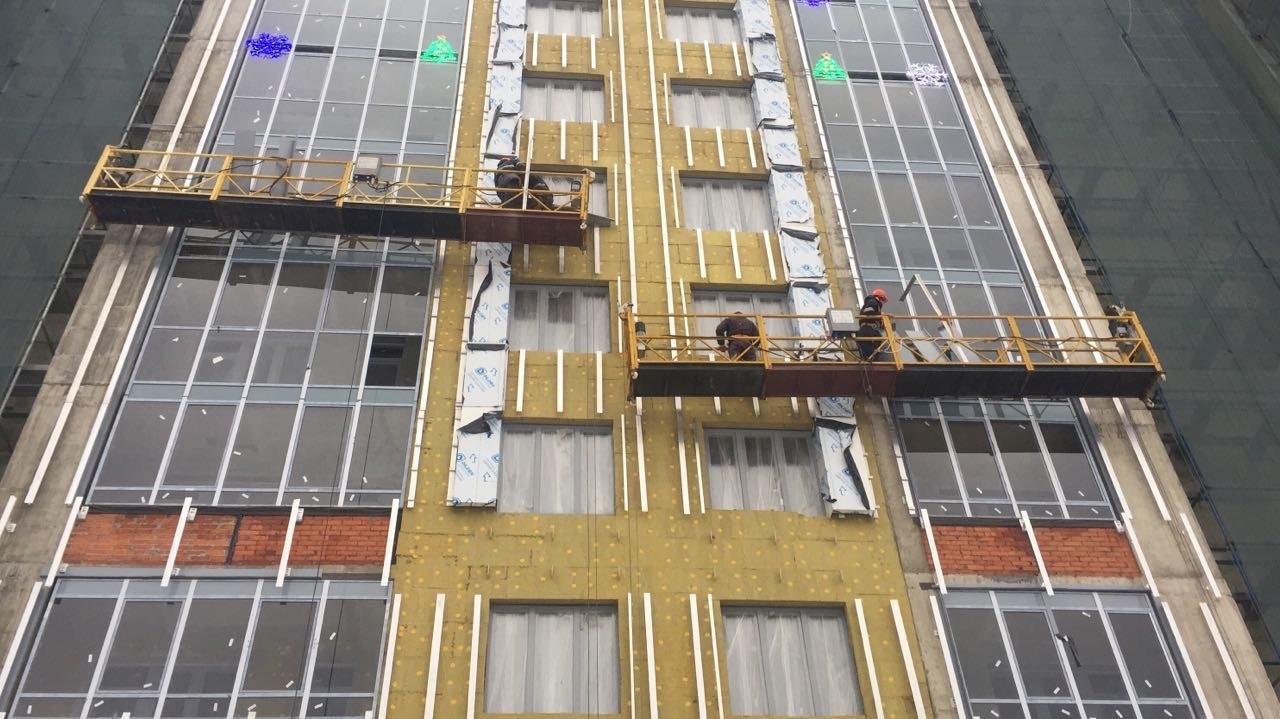 Работы по устройству вентилируемых фасадов жилого комплекса для ООО «Антс-Групп» в Петербурге