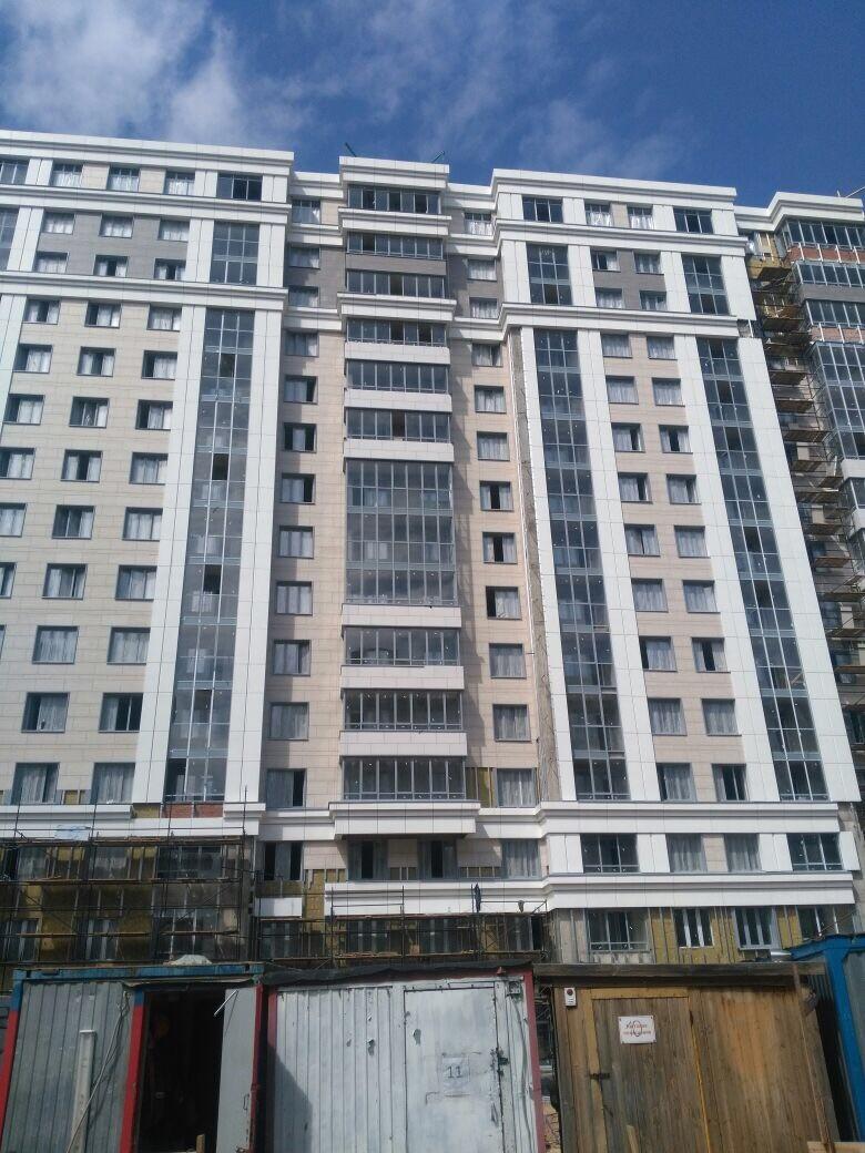 Цена работ по устройству вентилируемых фасадов жилого комплекса для ООО «Антс-Групп» в СПб