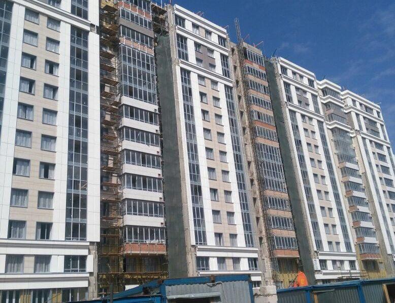 Устройство вентилируемых фасадов жилого комплекса по адресу г. Москва, ул. Викторенко 11 с24.