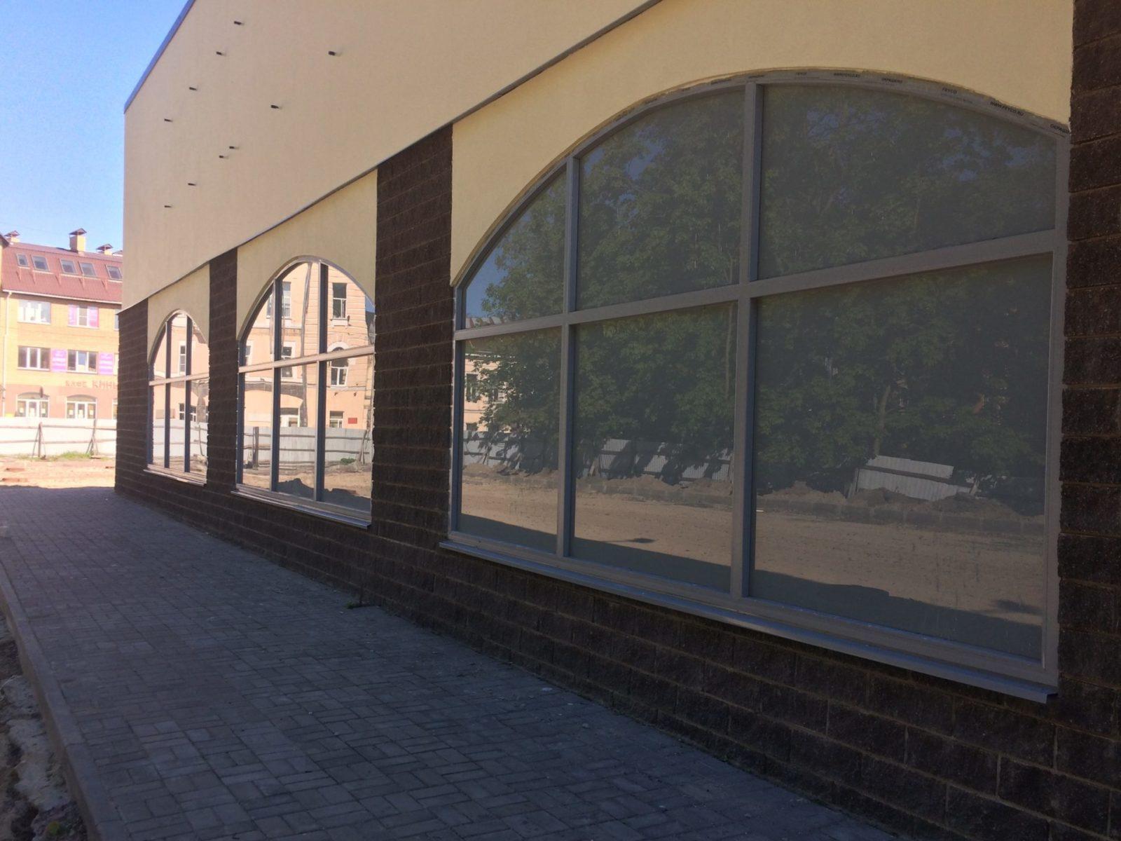 Работы по гидрофобизации фасадного камня для ООО «АСК Цитадель» в Петербурге