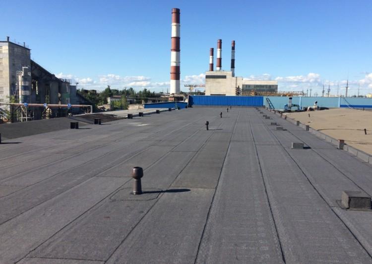 Монтаж рулонной наплавляемой кровли в Санкт-Петербурге