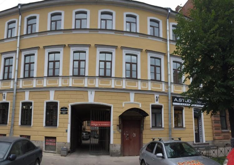 Покраска фасадов зданий в Санкт-Петербурге
