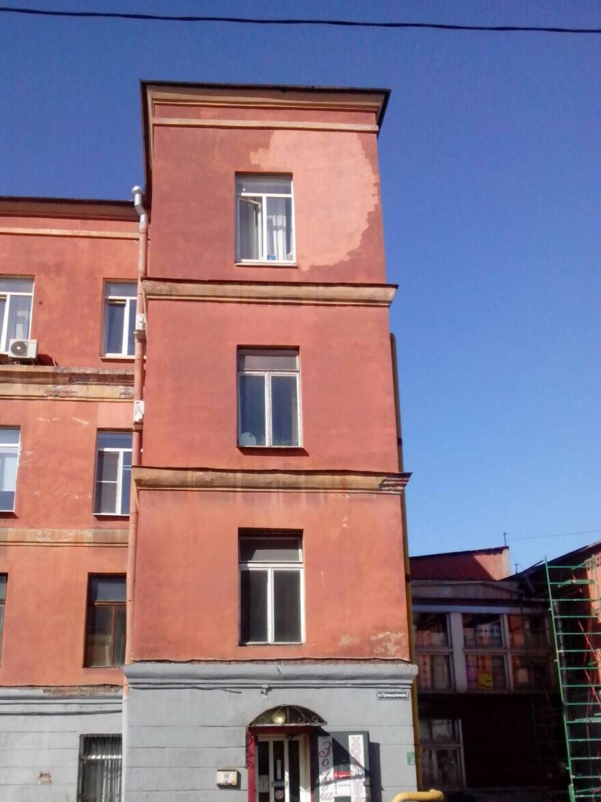 """Выполнение фасадных работ зданий для АО """"Светлана-Рентген"""" в Спб"""