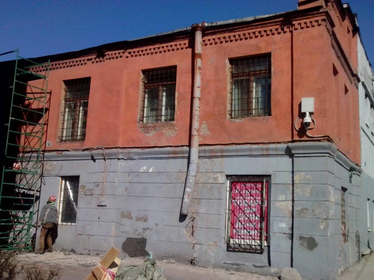 """Качественное выполнение фасадных работ зданий для АО """"Светлана-Рентген"""""""