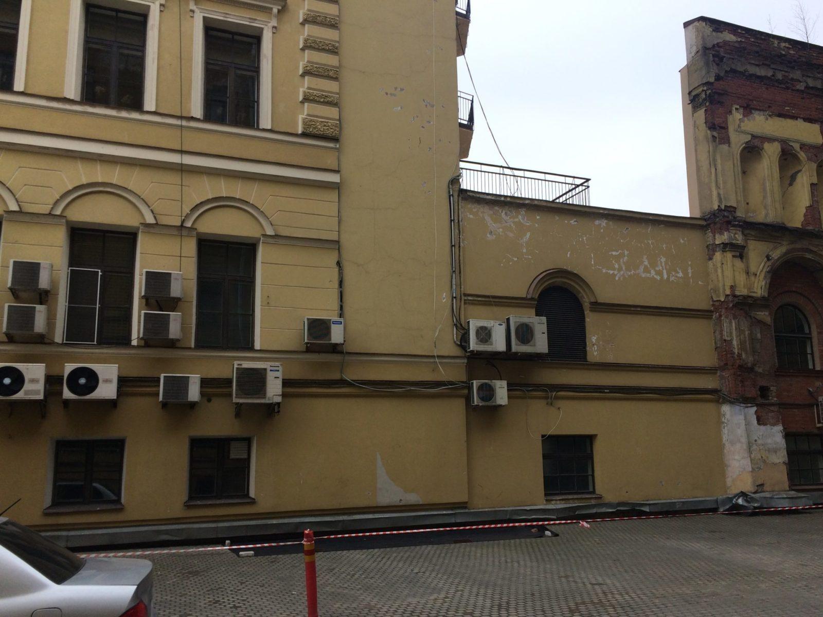 Фасадные работы здания Консульство Нидерландов, Набережная реки Мойки д.11 в Петербурге