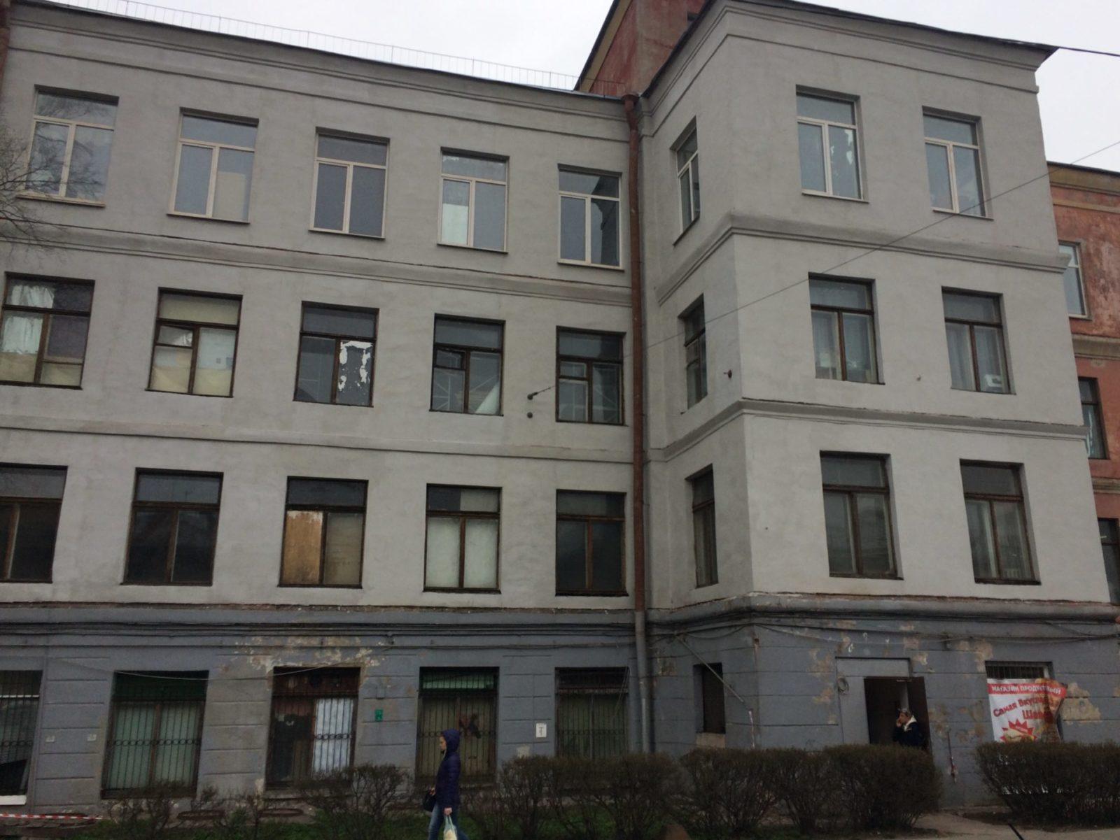 """Цена выполнения фасадных работ зданий для АО """"Светлана-Рентген"""""""