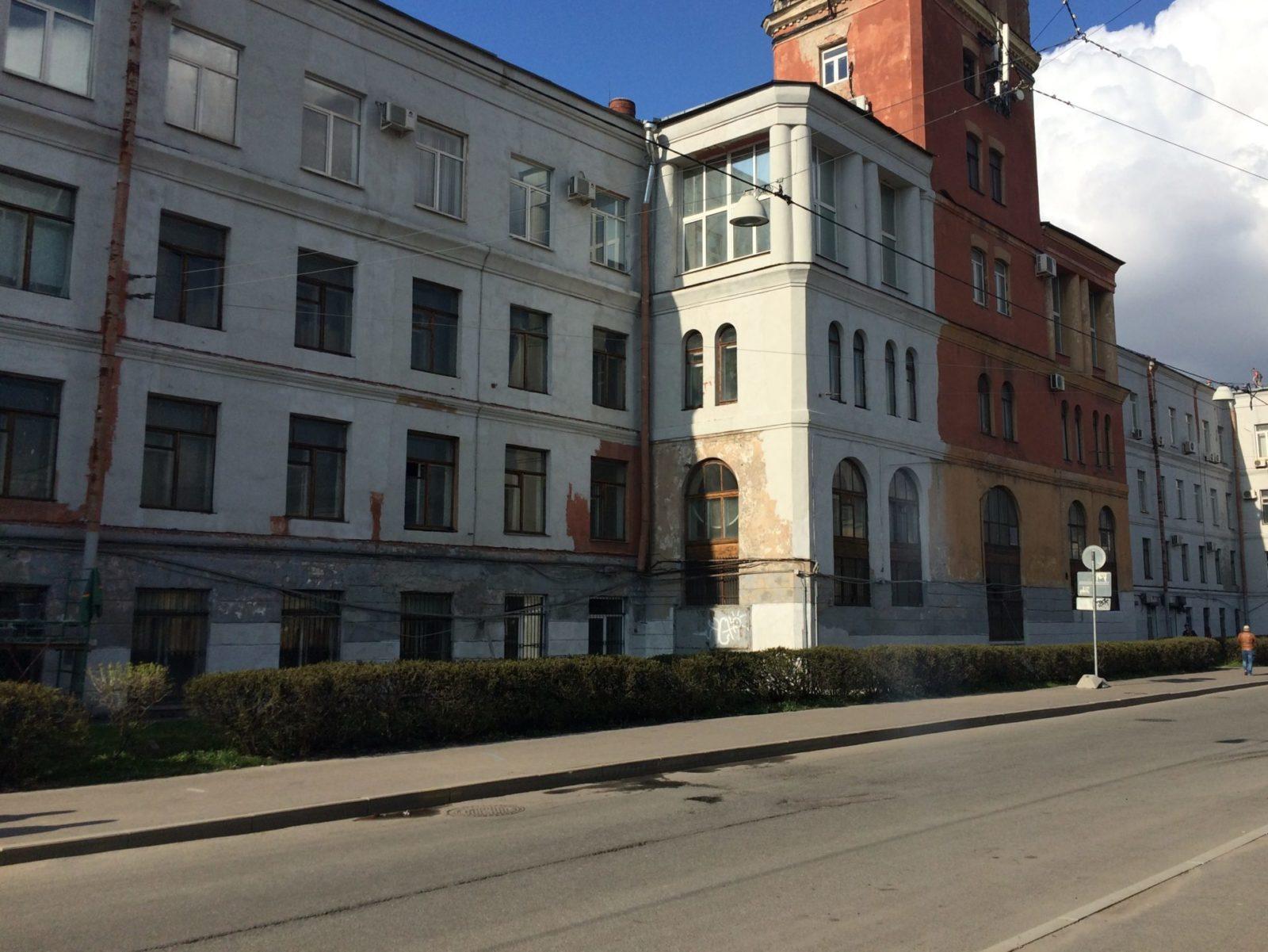 """Цена выполнения фасадных работ зданий для АО """"Светлана-Рентген"""" в Петербурге"""