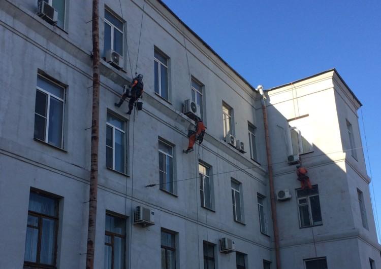 фасадные работы компании Наш город