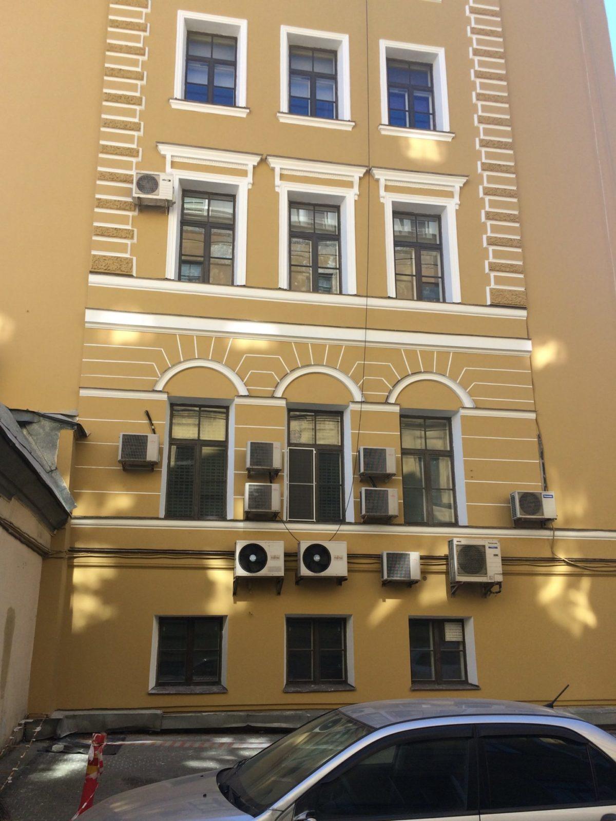 Стоимость фасадных работ здания Консульства Нидерландов, Набережная реки Мойки д.11 в С.-Петербурге