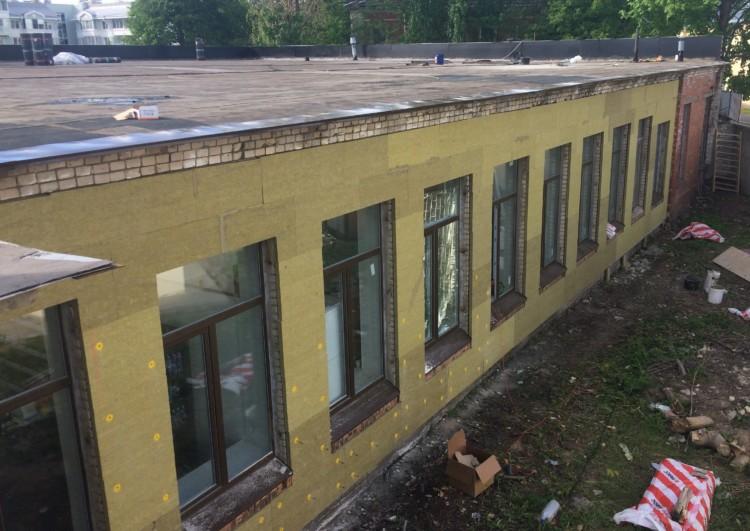 услуги утепления фасадов зданий