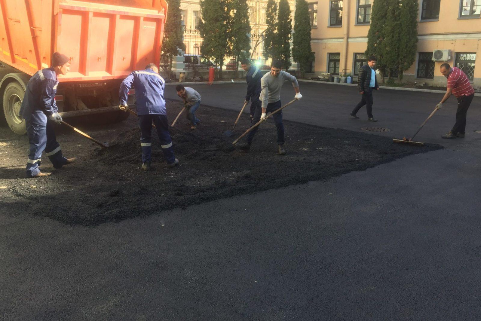 Благоустройство территории в Санкт-Петербурге