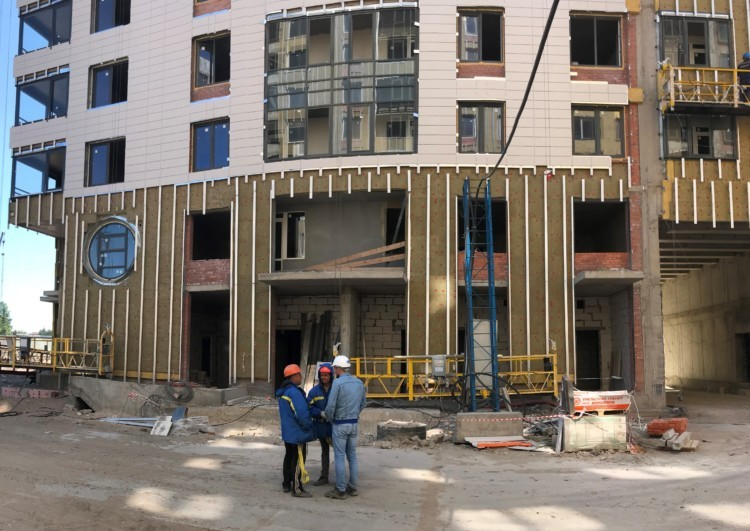 услуги по монтажу вентилируемого фасада