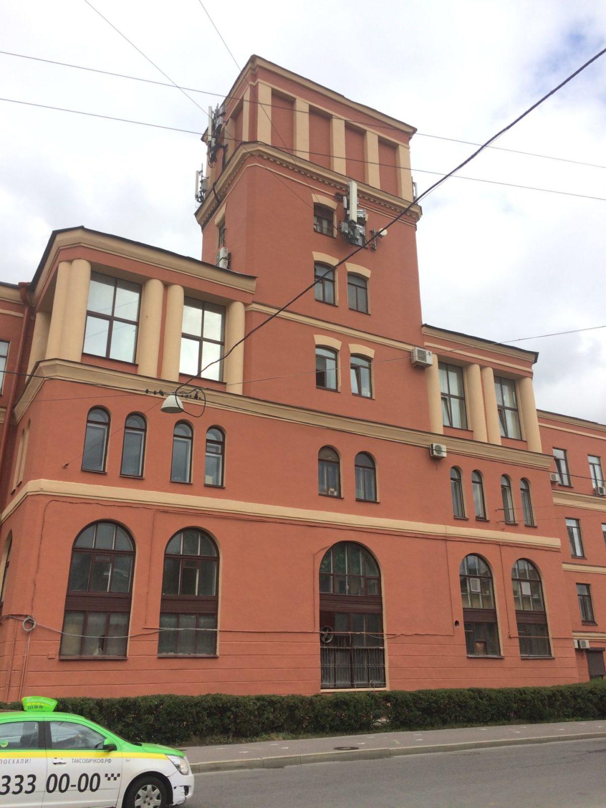 "Выполнение работ по покраске фасада здания для АО ""Светлана-Рентген"""
