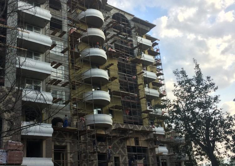 Монтаж системы утепления «Мокрый фасад» в Санкт-Петербурге