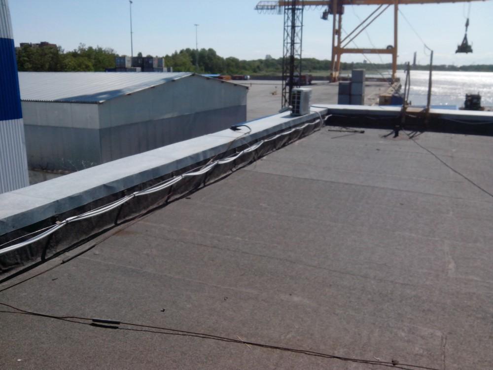 Паромно-перегрузочный комплекс ООО «МОБИ ДИК» - ремонтные работы