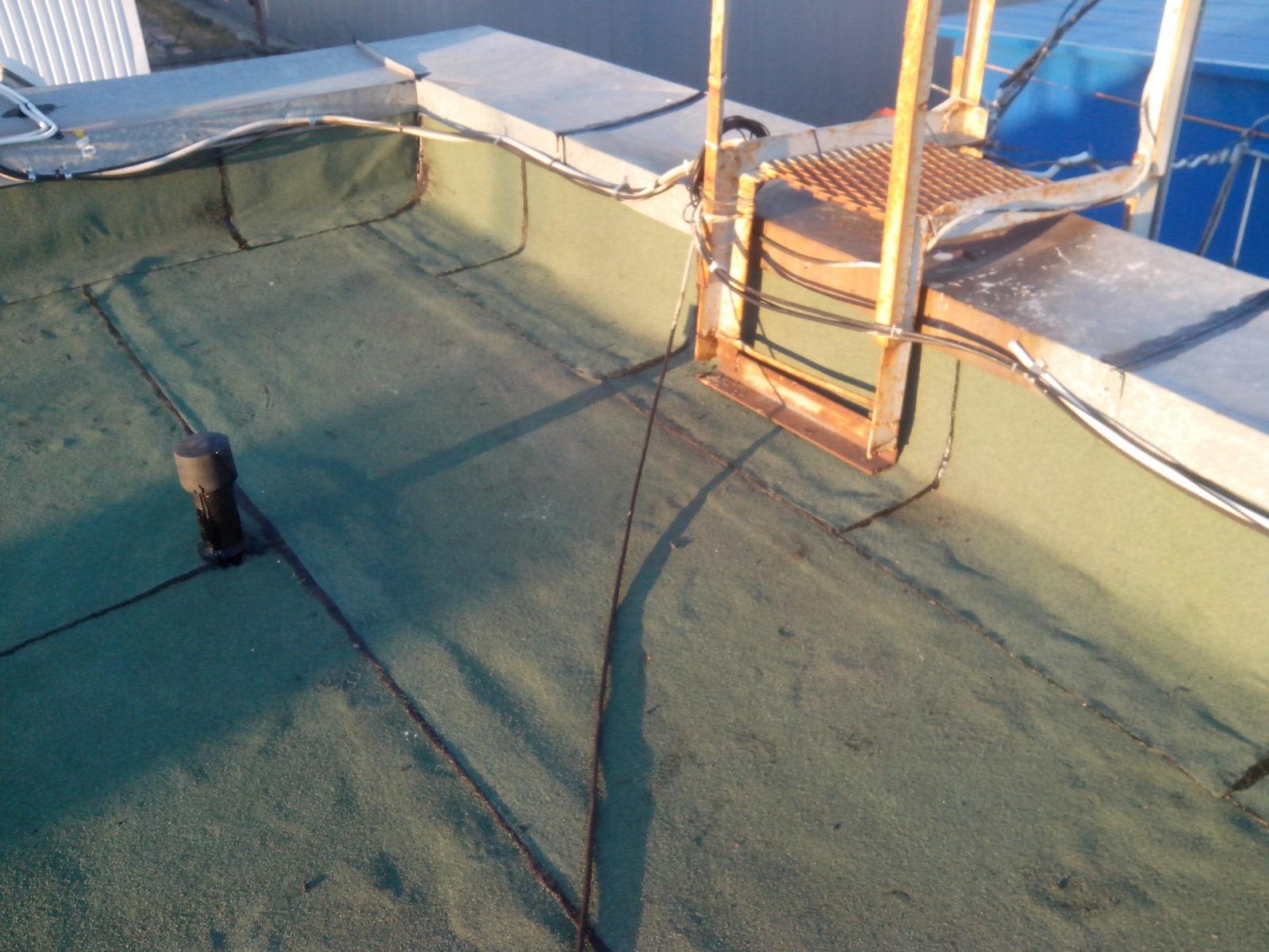 ремонт наплавляемой кровли офисного здания паромно-перегрузочного комплекса