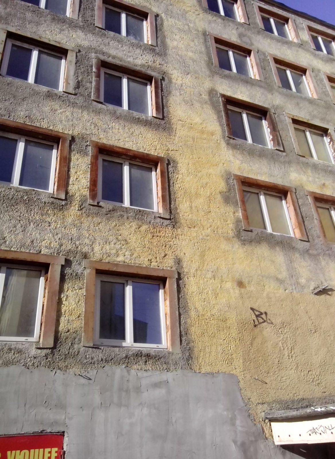 ПОдготовк ак реставрационным работам здания