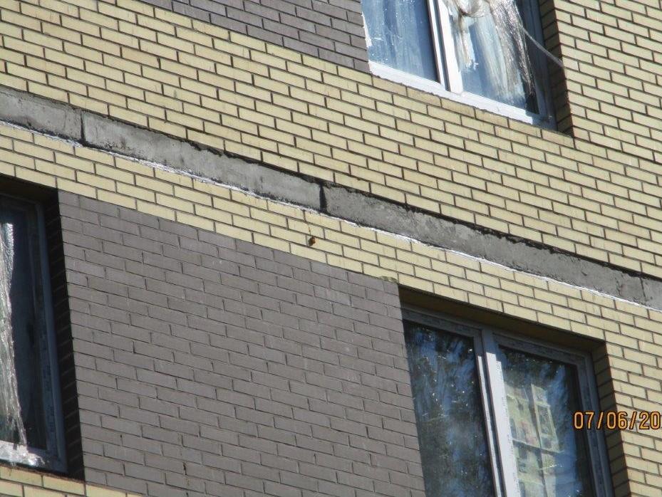 Выполнение работ по устройству швов перекрытий здания