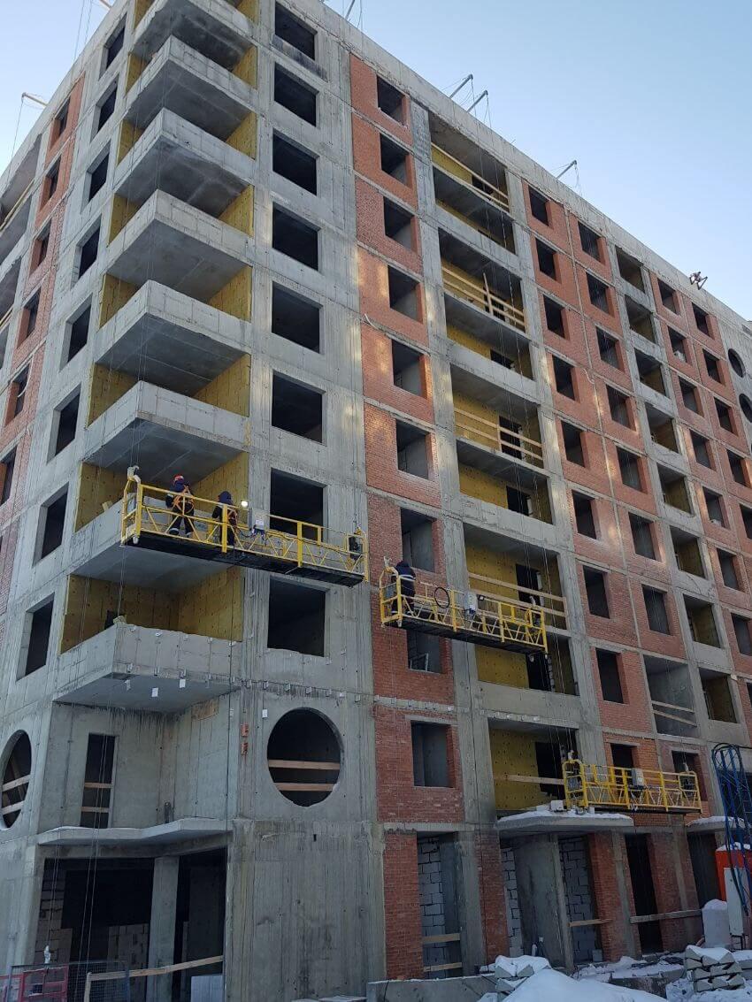 Качественные, ремонтные работы вентилируемых фасадов зданий в Петербурге и Лен.области