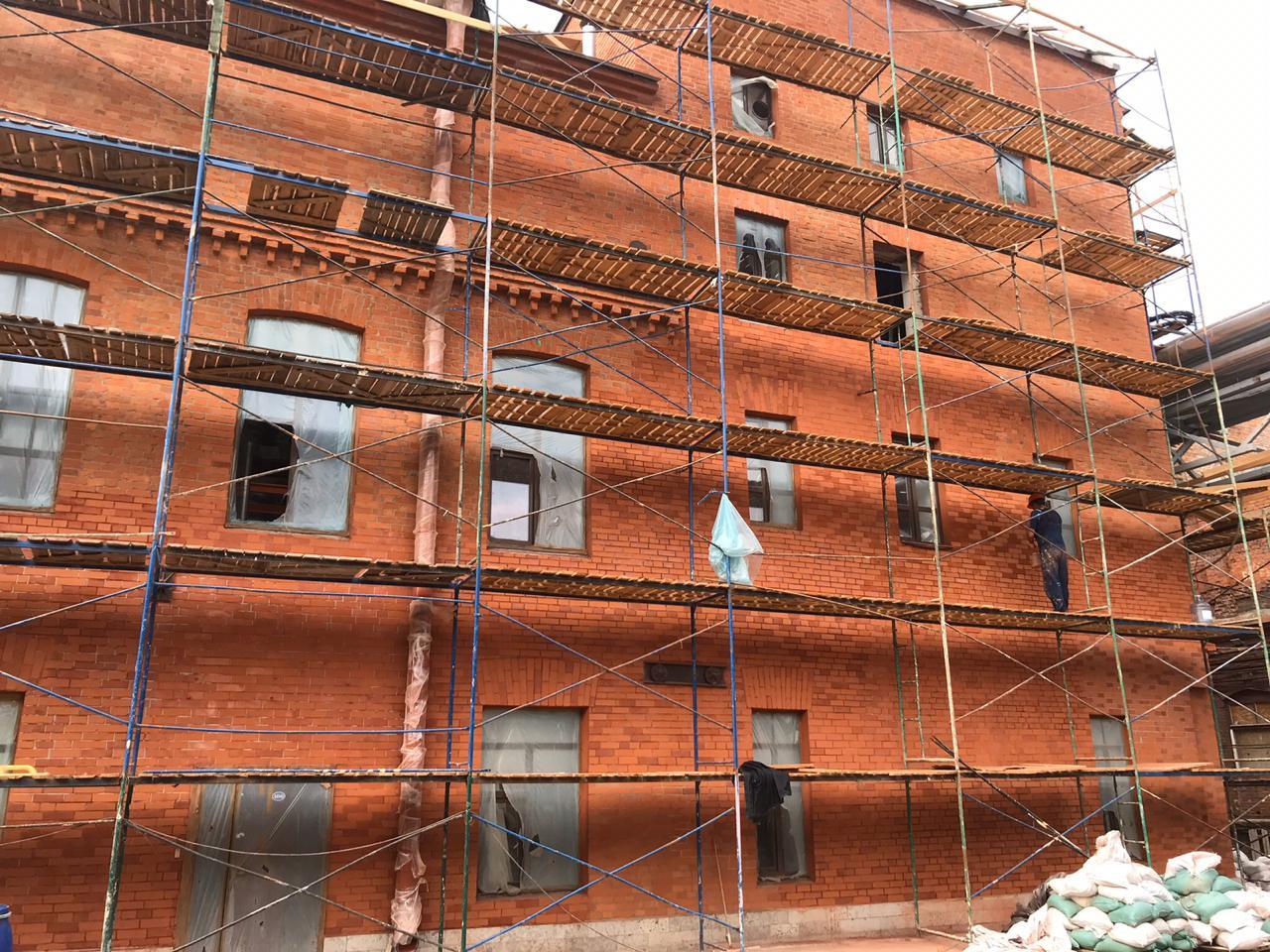 Качественный, комплексный ремонт фасада здания для в СПб и Лен.области