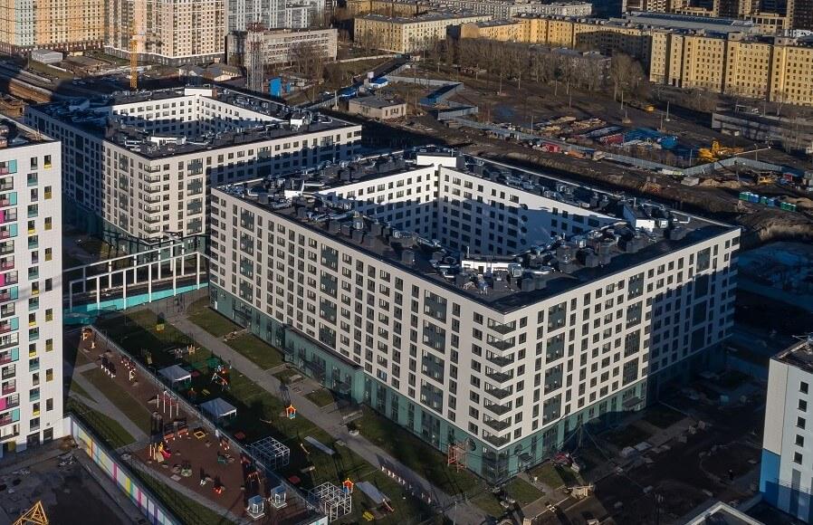 Качественный ремонт и установка вентилируемых фасадов зданий в Питере